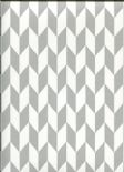 Studio Edit Silver Wallpaper 1627/909 By Prestigious Wallcoverings